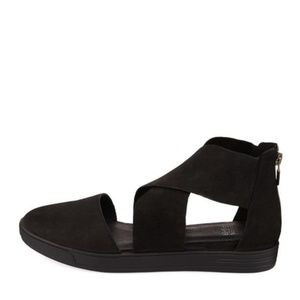 EILEEN FISHER Carver nubuck leather sandals